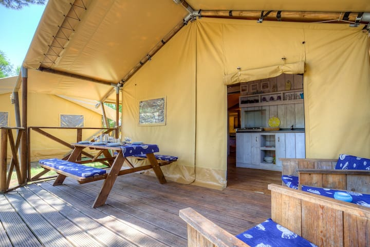 Sea Star - Two Bedroom Glamping Home 13
