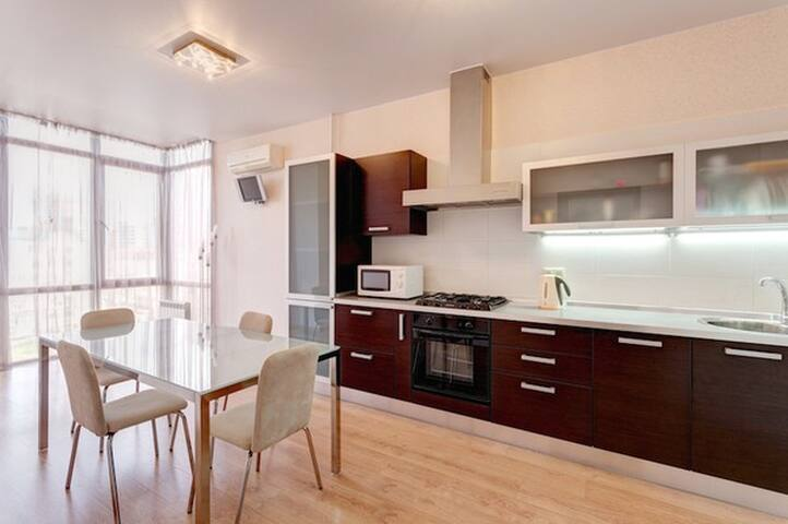 Уютная квартира с джакузи - Kazan - Appartement