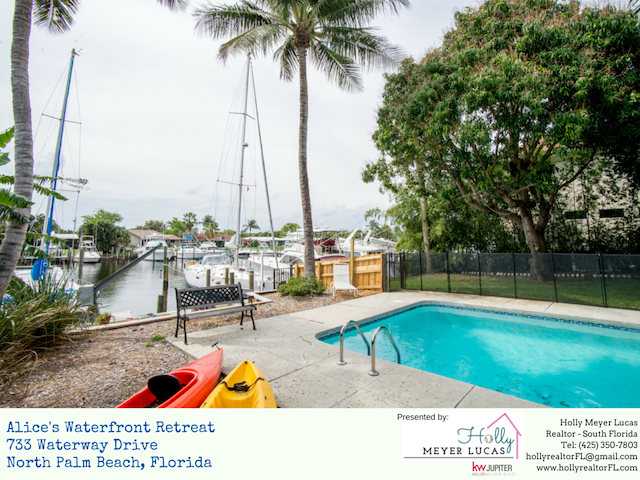 Waterfront Charming Home in North Palm Beach - North Palm Beach