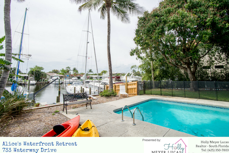 Waterfront Charming Home in North Palm Beach - North Palm Beach - Dům