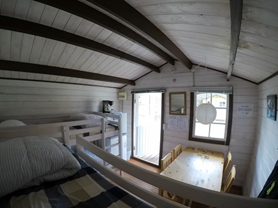 Inside the cottage!