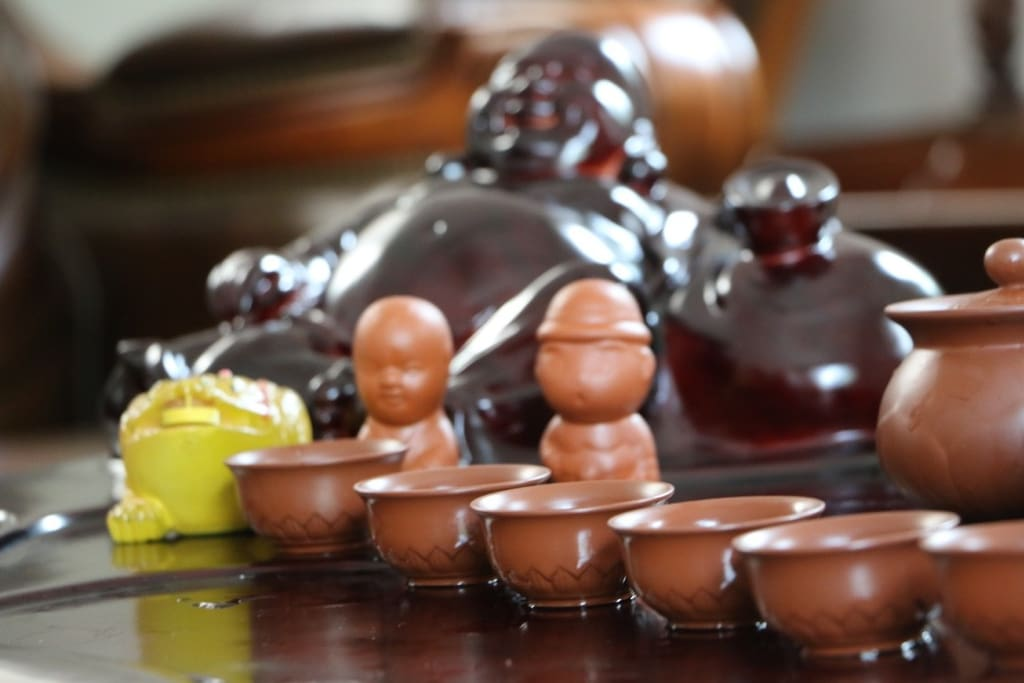 客厅紫砂茶具