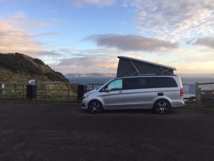 Marco Polo Campervan for hire Portrush