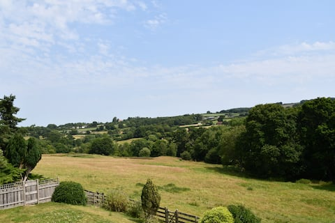 Cosy cottage near Lyme Regis with beautiful views