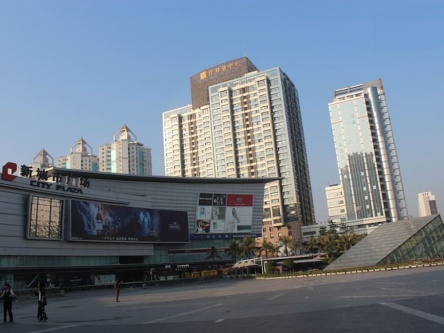 city center, steps to metro station and new city mall.