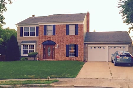 Close to Philly, Rowan and Atlantic City - Monroe Township - Haus
