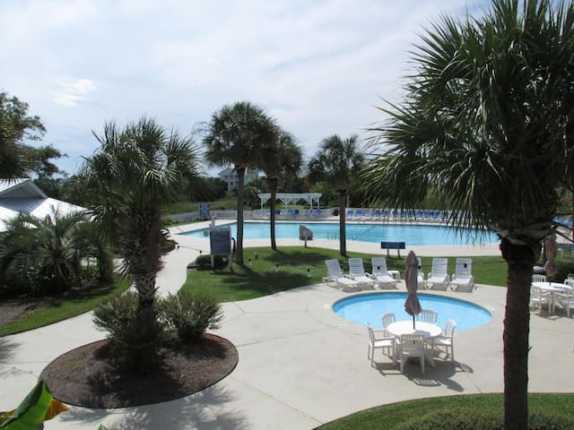 Larger pool at the Beach Club
