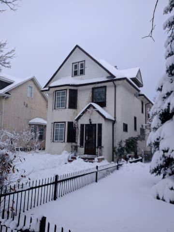 Tony's house