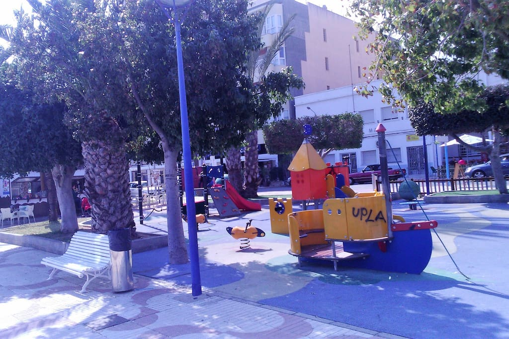 zona de juegos para niños a5min de la casa