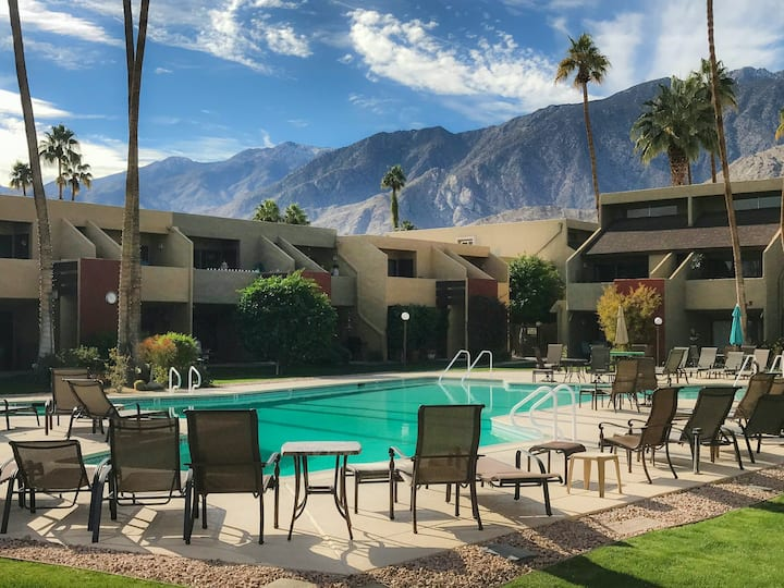 Family-friendly condo w/mountain views, shared pool spa, outdoor pool & tennis