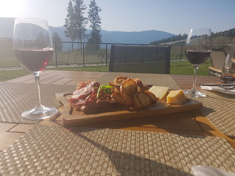 Charcuterie at Chase Winery!