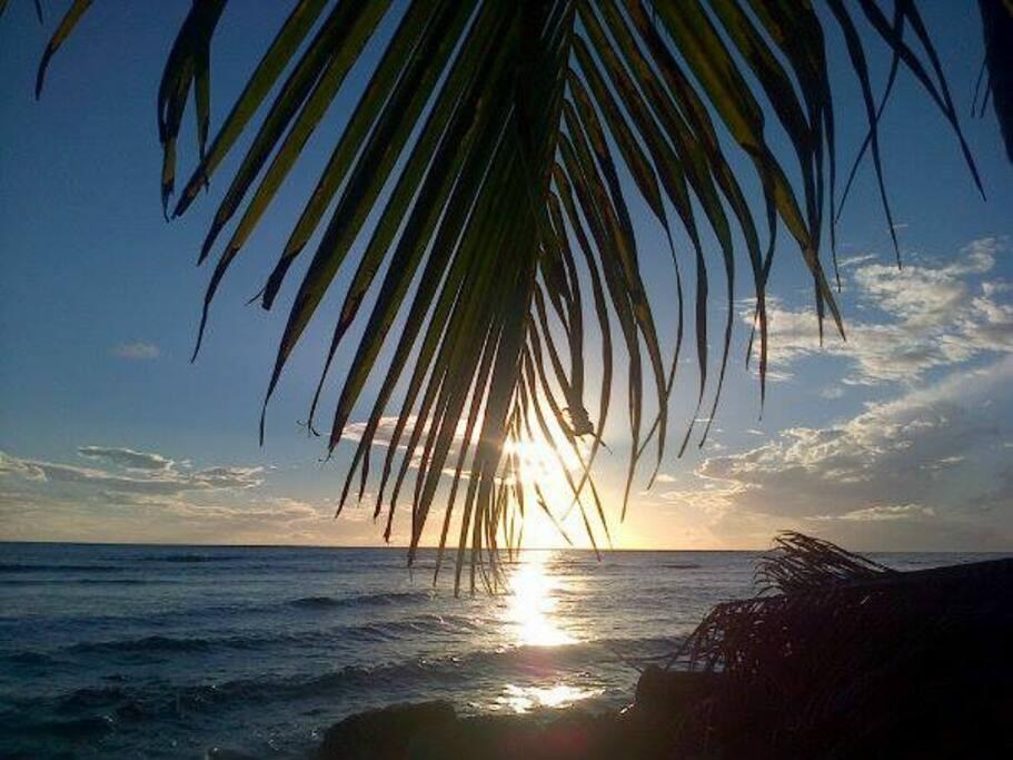 Sunset south coast