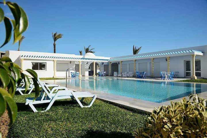 superbe appar avec piscine pour les vacances