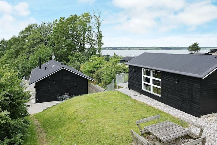 Modern Holiday Home in Løgstrup with Garden