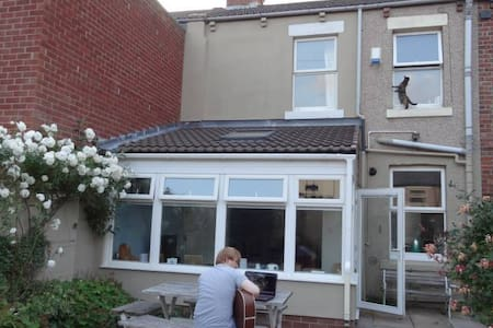 Cat lovers paradise by the coast ('Meow Mews') - Whitley Bay - Bed & Breakfast