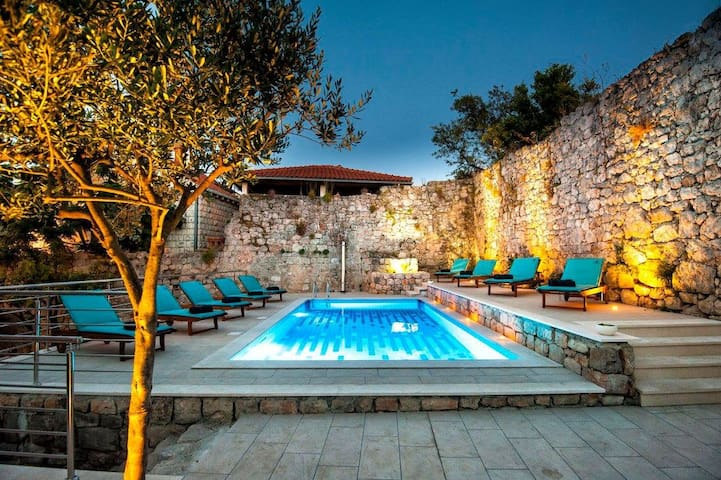 DUBROVNIK LUXURY VILLA SWIMMING POOL - Dubrovnik - Villa