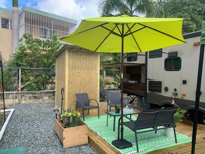 Rincon Beach Camper..sun, nature & relax