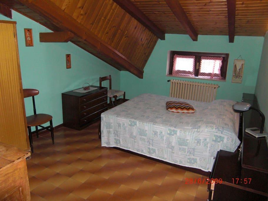 camera verde - 2 posti letto