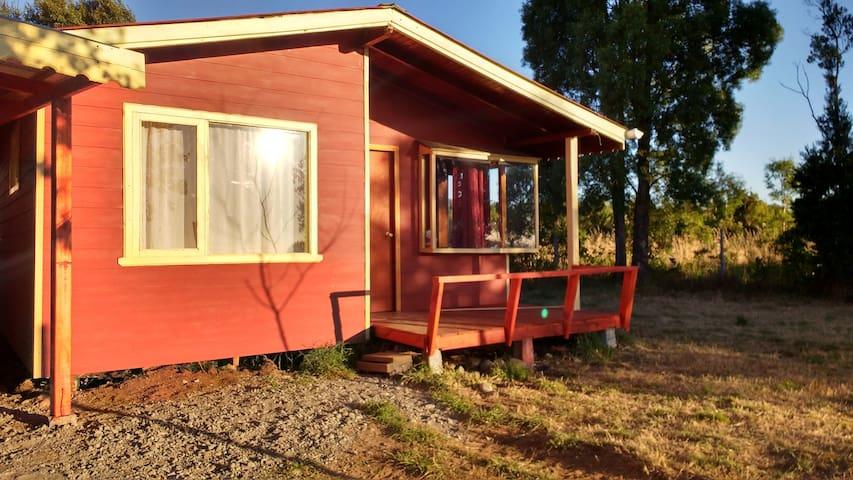 El refugio - Frutillar - Houten huisje