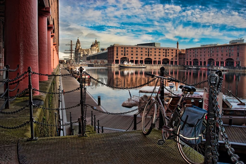 Albert Dock is a great place to grab a coffee, visit the museum and people watch! Short walk away from apt. Picture taken from internet and will be take down if requested.