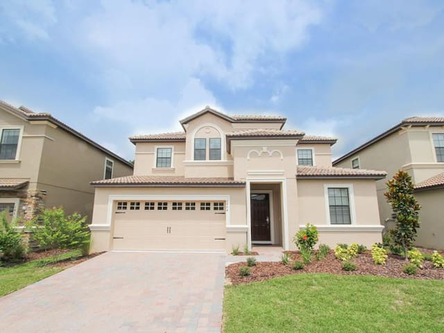 ChampionsGate   Pool Home 7BR/5BA   Sleeps 14   Gold - RCG728 - Four Corners - Vila