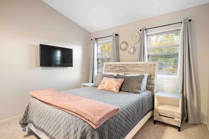 Roomy, Bright, Comfortable Master Suite
