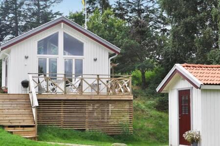 Härligt hus i newportstil, 100 meter till havet.