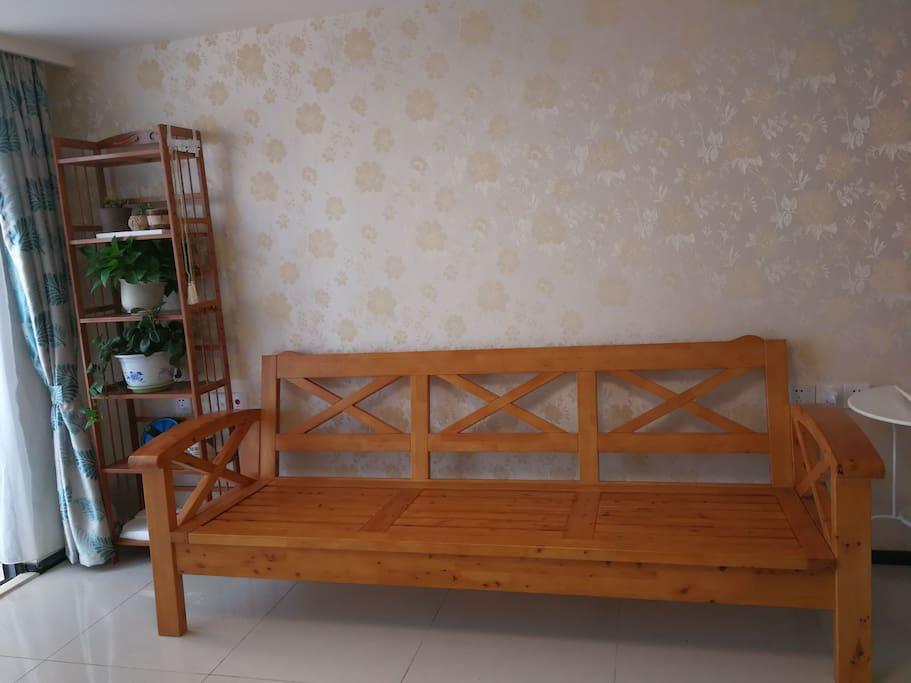 精致典雅的客厅,香柏木沙发