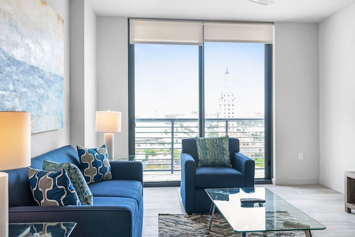 Luxury Miami/Brickell One Bedroom Apartment