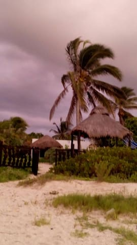 renta de casa frente al mar en Chelem-Yucalpeten