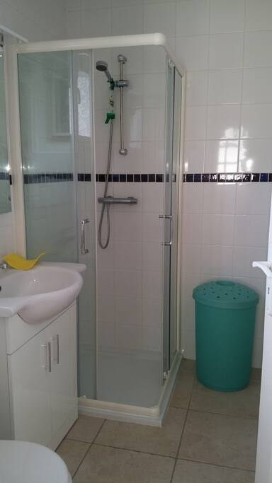 separate toilet and shower room