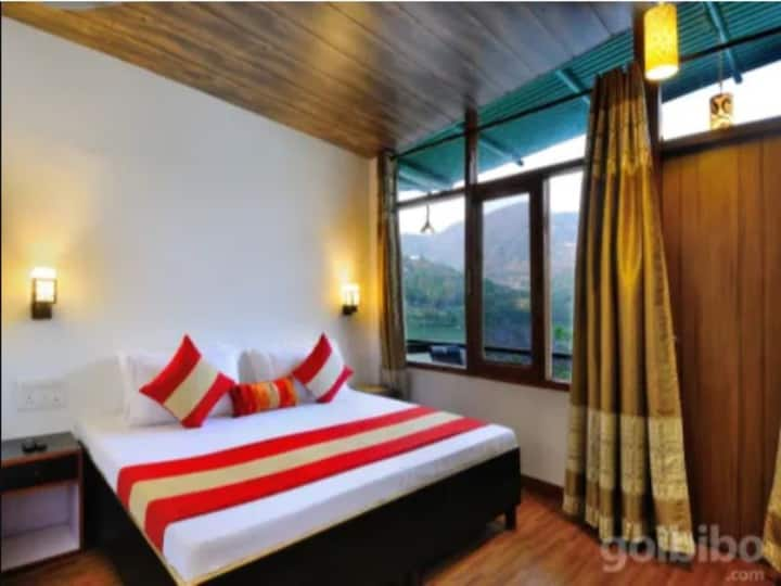 Aadrika Retreat - Teak OR Willow Lake View WITHOUT BALCONY on 1st floor with AC