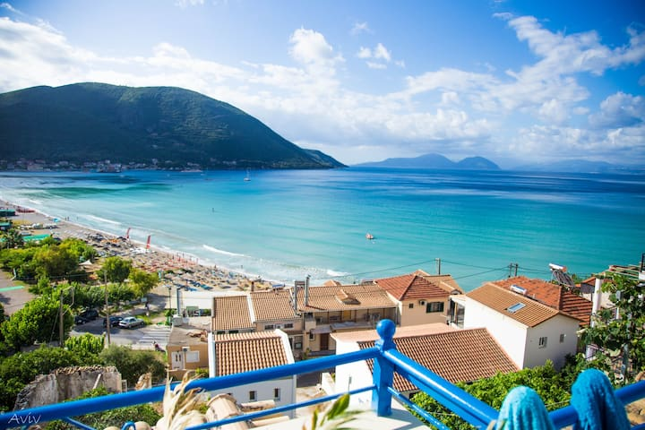 Family Sea view attic - Lefkada - Appartement