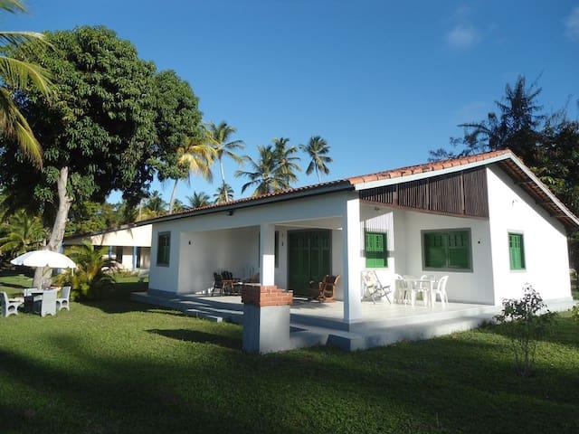 Beira-mar com 5 quartos na Praia dos Carneiros - Rio Formoso - House