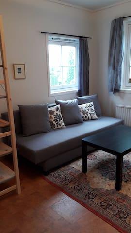 Apartment close to city center, 10 min by train.
