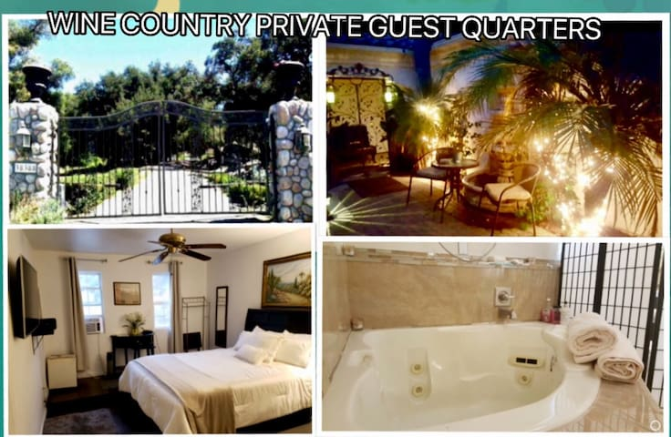 Guest Quarters, 6 Guest, 3 Room 2Bath, Jacuzzi Tub