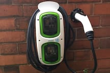 Electric charge up for your vehicle for an additional small fee