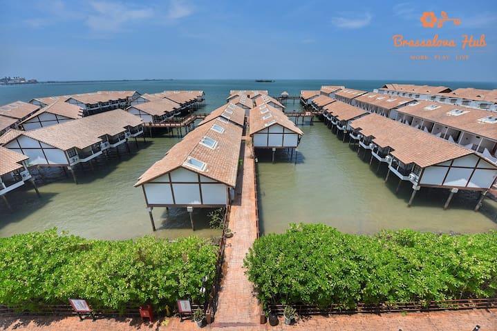 #Modern Design Water Chalet @ Lexis Port Dickson