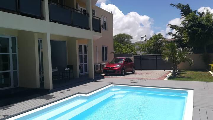 Appartements, Piscines , Rivière Noire, Tamarin