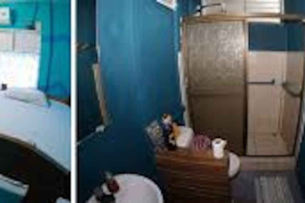 Dormitorios compartidos con los baños compartidos