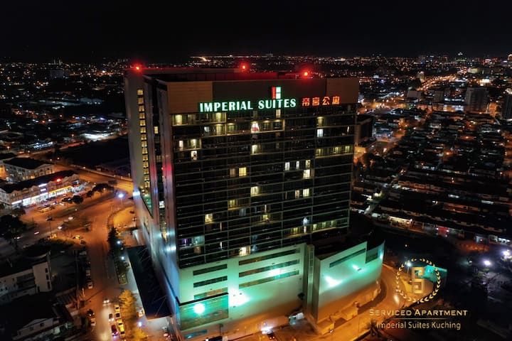 Serviced Apartment @ Imperial Suites Kuching - Two-Bedrooms Apartment Suite