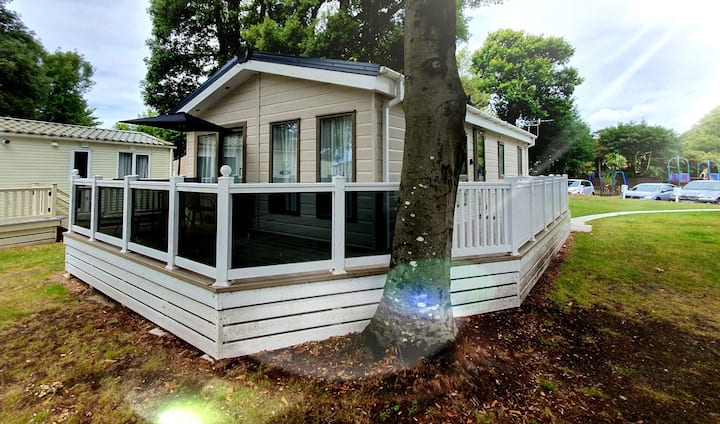 Avon Beach Lodge, Sandhills Holiday Park, Dorset