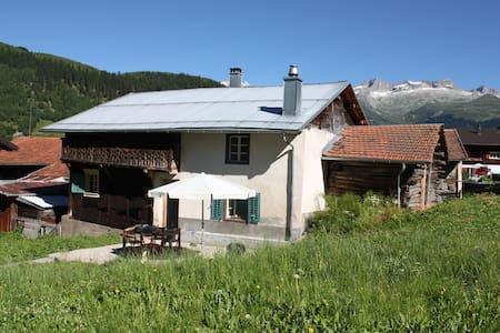 Mountain Chalet Heidi Style (Swiss Alps/Mountains)