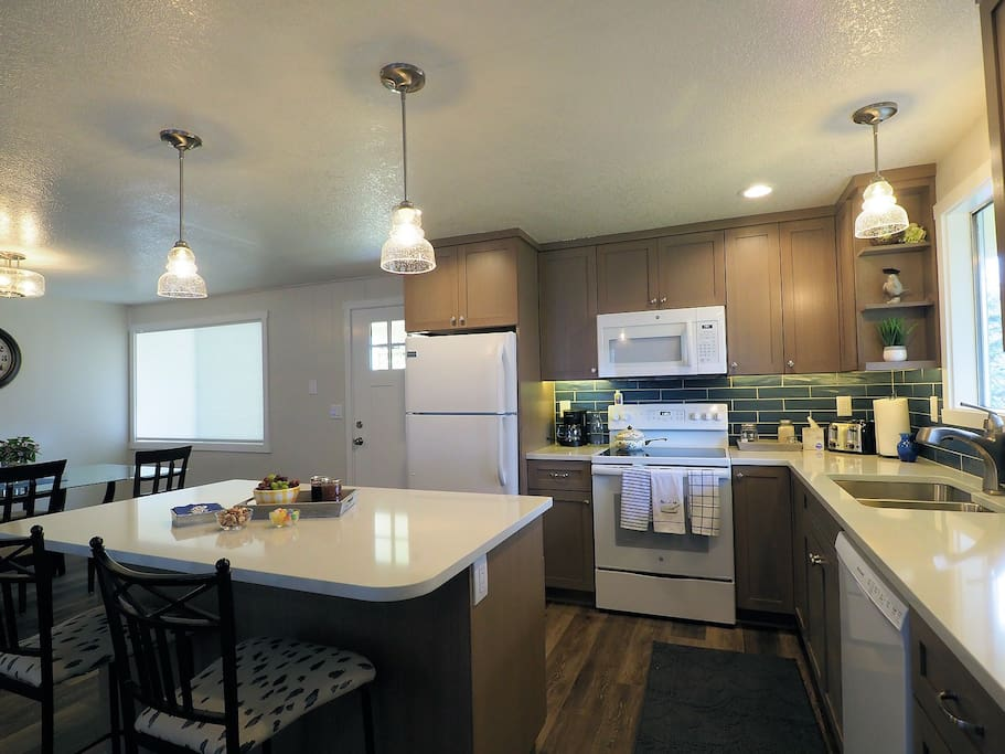 Completely renovated modern beautiful kitchen