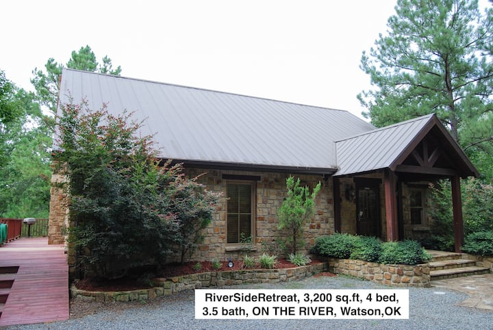 RIVERSIDE RETREAT Cabin - TIME TO GET AWAY & RELAX