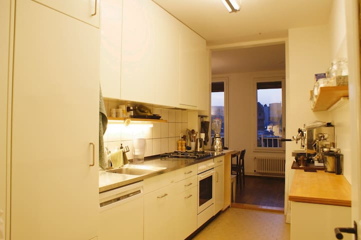 Beautiful apartment in the heart of Kleinbasel - Basel - Apartment