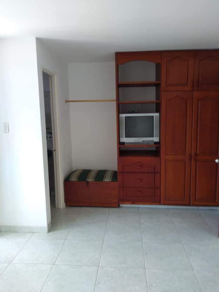 Habitación cómoda para descansar