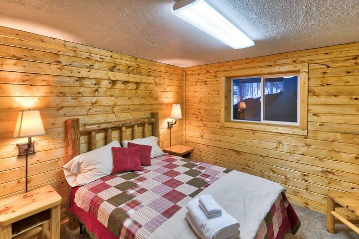 Comfortable beds and plenty of natural lighting make the bedrooms a great place to wake up in the morning