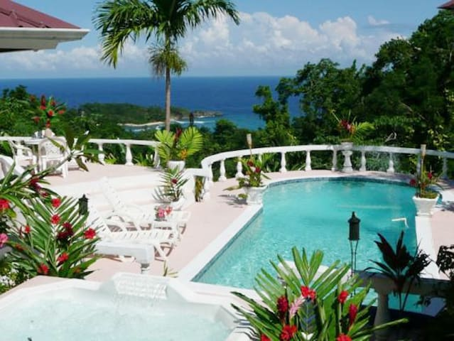 Luxury Ocean View Jamaican Estate