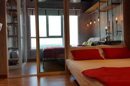 Cozy Loft 214 | 4Guest | 5 mins BTS Skytrain |WIFI - Bangkok - Wohnung